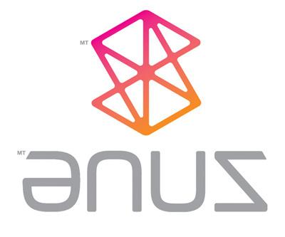 the ZUNE logo backwards