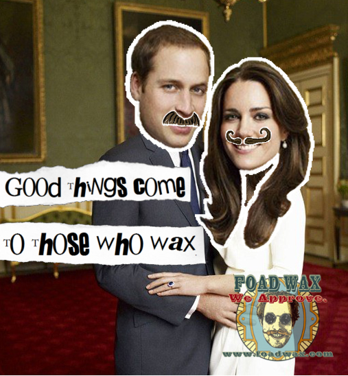 Foad Wax Offers Royal Wedding Discount