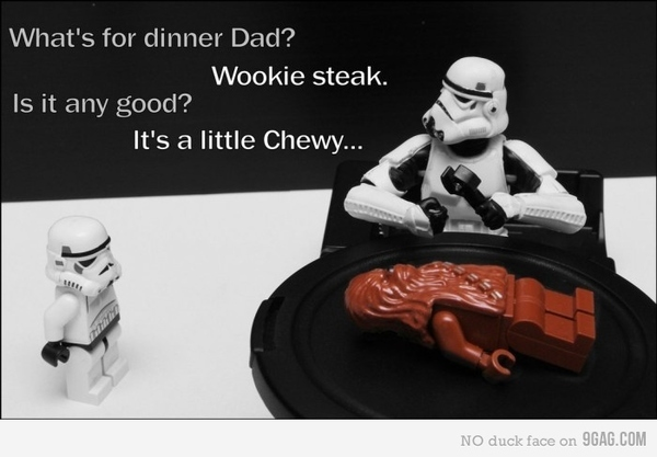 A Stormtrooper's Lunch