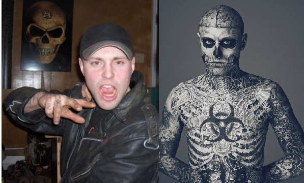 Zombie Boy - Before and After