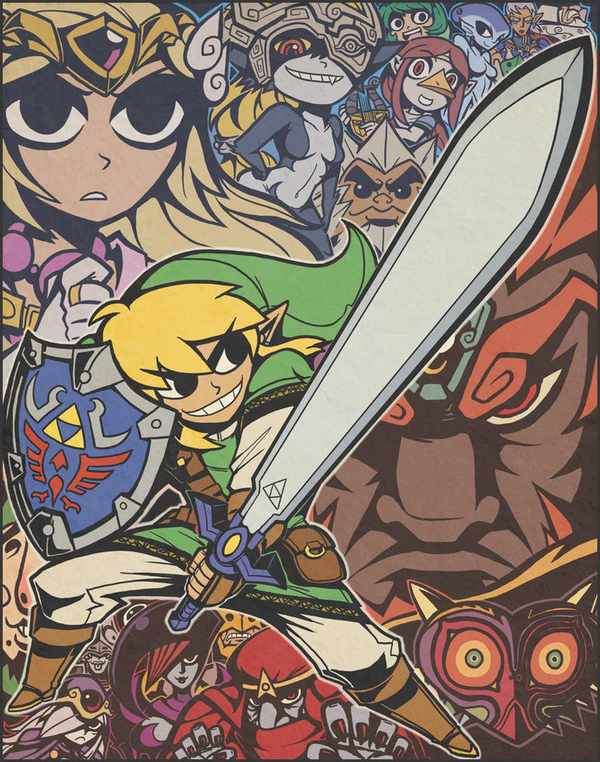 Scott Pilgrim Vs. Legend of Zelda
