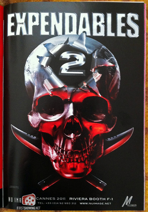 First Teaser Poster For The Expendables 2