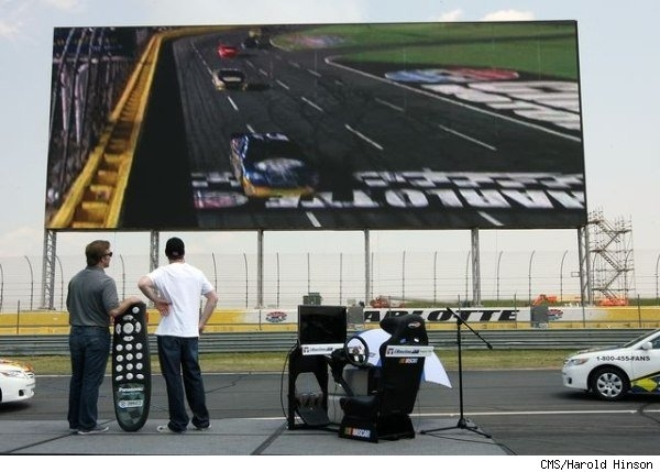 The World's Largest HD Screen Arrives At Charlotte Motor Speedway