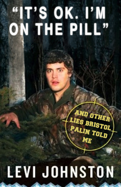 Levi Johnston's New Book Cover Goes Meme