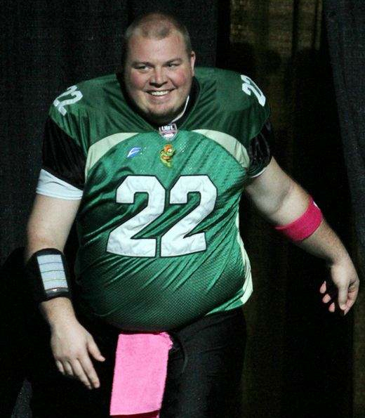 Ex-NFL Player Jared Lorenzen resurfaces bigger than ever on the River Monsters of the Ultimate Indoor Football League