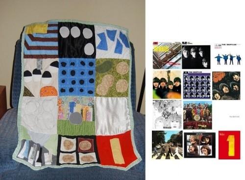 Beatles Baby Quilt