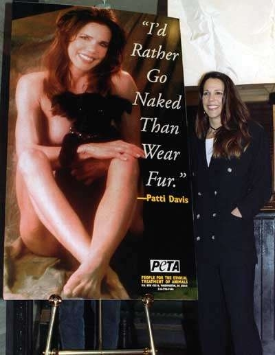 Patti Davis Nude for PETA