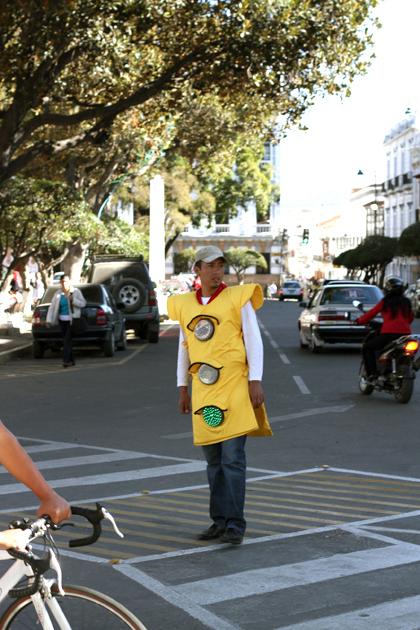 Human Traffic Light