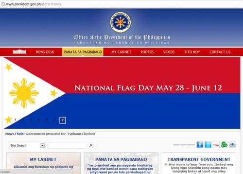 Philippine Goverment Promotes National Flag Day the Wrong Way