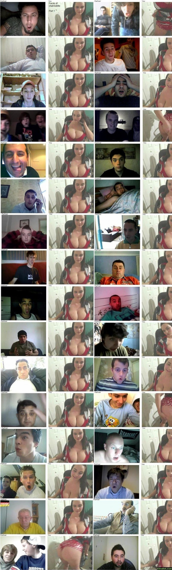 Priceless Reactions To Boobs On Chatroulette