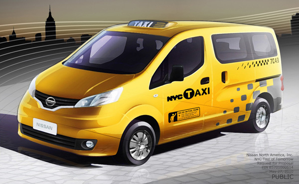 Bloomberg Announces New NYC Taxi Design