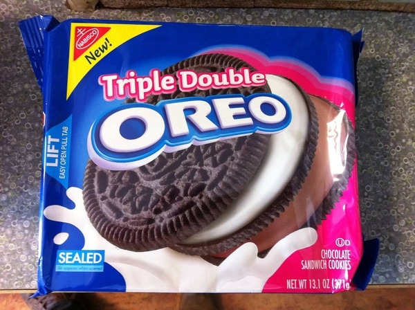 The New Triple Double Oreo