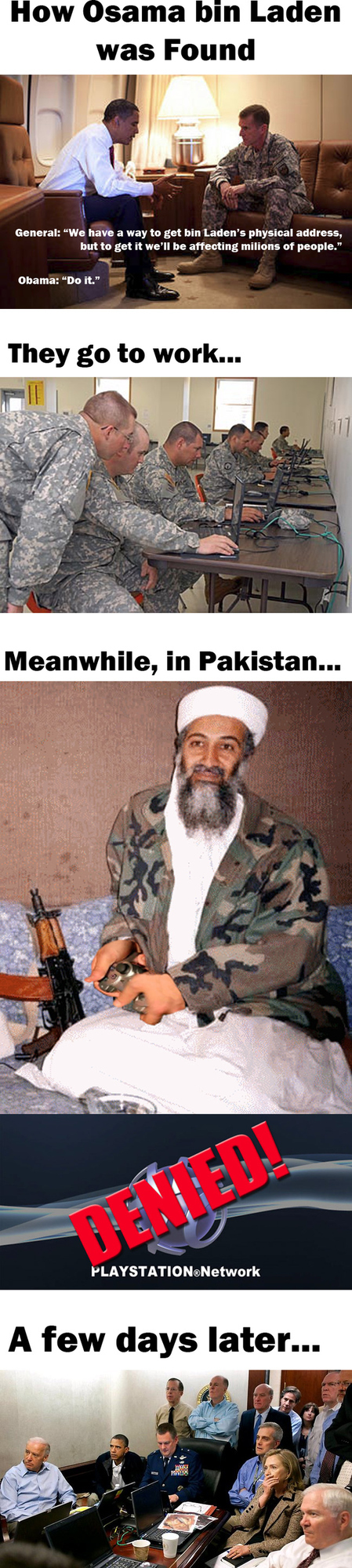 How Osama Bin Laden Was Found