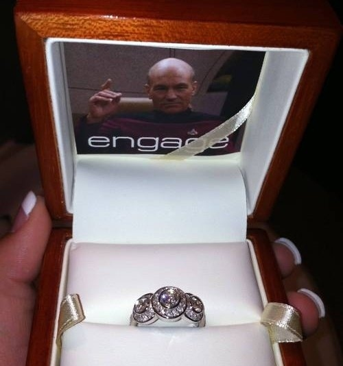 Geeky Engagement Win
