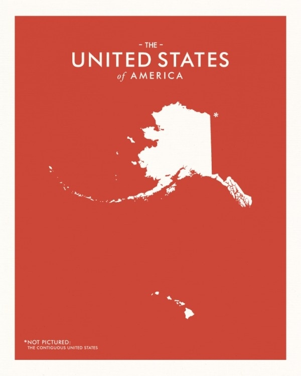 Map Of The United States*