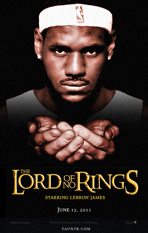 LeBron James: The Lord of No Rings