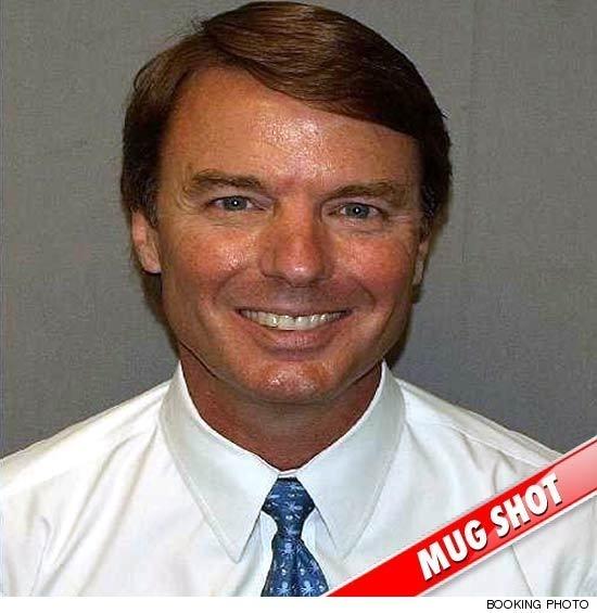 John Edwards' Happy Mug Shot