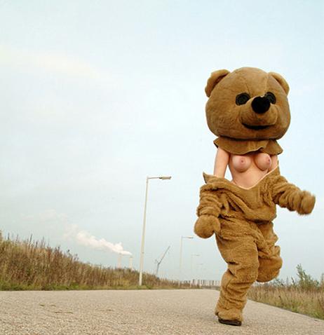 Topless Teddy Bear (NSFW)