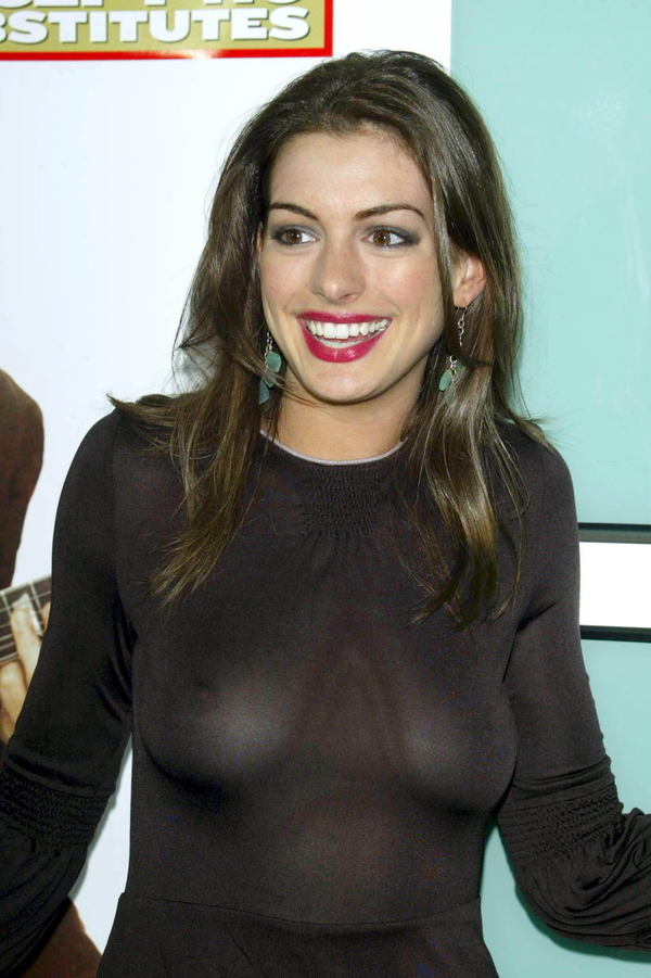 Anne Hathaway's Breasts (NSFW)