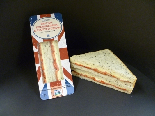 The Strawberries & Cream Sandwich