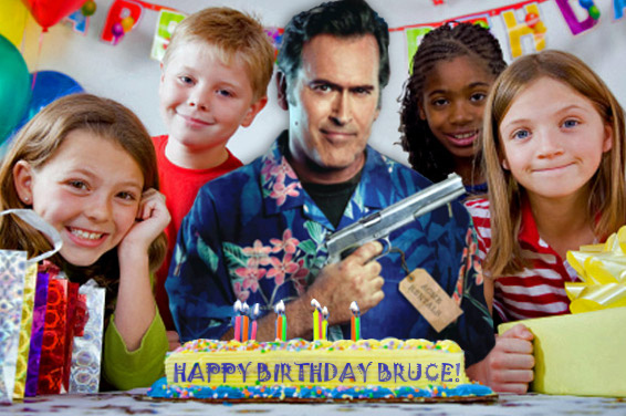 Happy Birthday Sir, Mr. Bruce Campbell!
