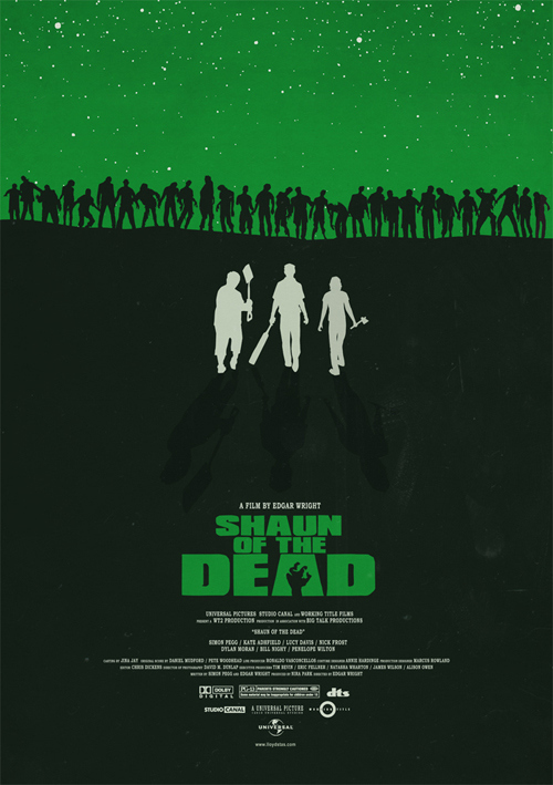 Alternative Shaun Of The Dead Posters