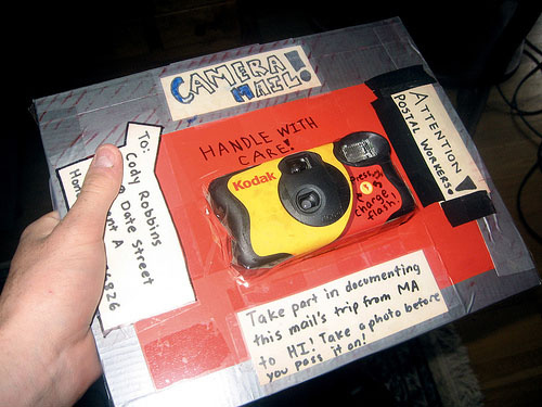 Disposable Camera Captures Its Own Trip Across the United States