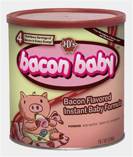 Bacon-Flavoured Baby Formula