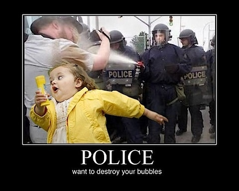 The Bubble Police!