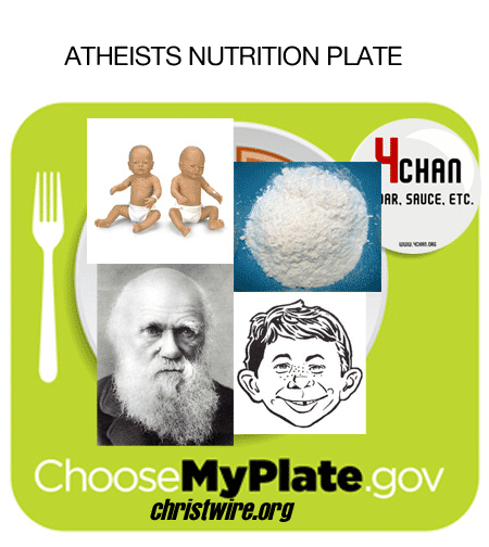 Atheist Nutritional Plate
