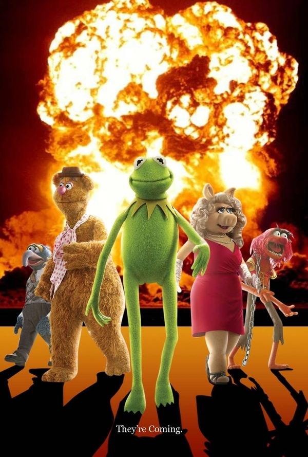 Muppets Don't Look At Explosions
