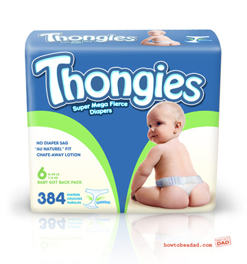 Thong Diapers, Newest in Baby Fashion