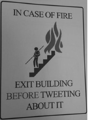 Fire Safety Sign in 2011