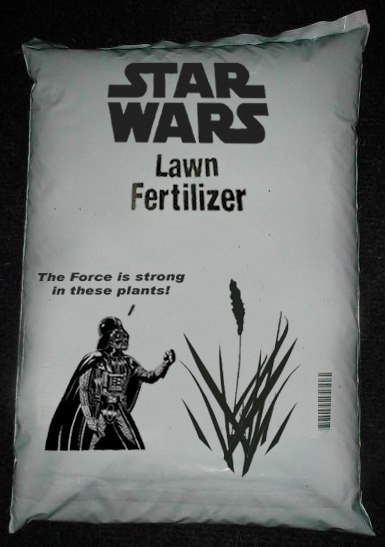 Star Wars Lawn Fertilizer