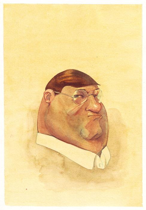 Austere Portrait Of Peter Griffin