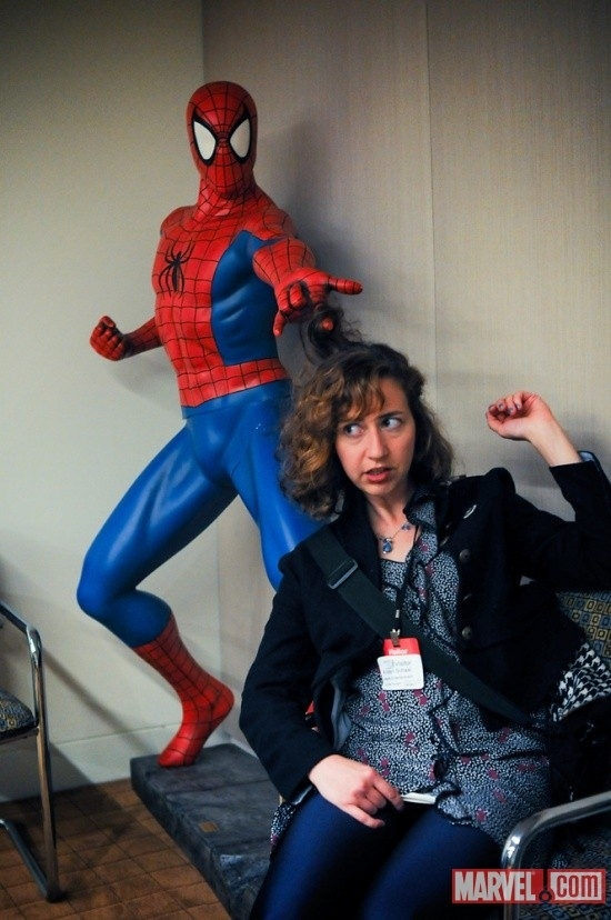 Kristen Schaal Went On A Date With Spider-Man