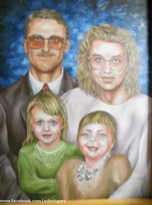 Bizarre Family Portrait