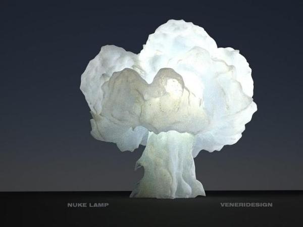 Nuclear Blast Lamp