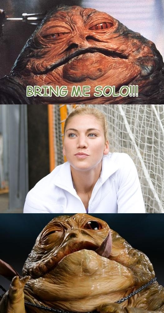 Jabba Wants Solo!!!