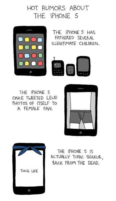 Hot Rumors About The iPhone 5