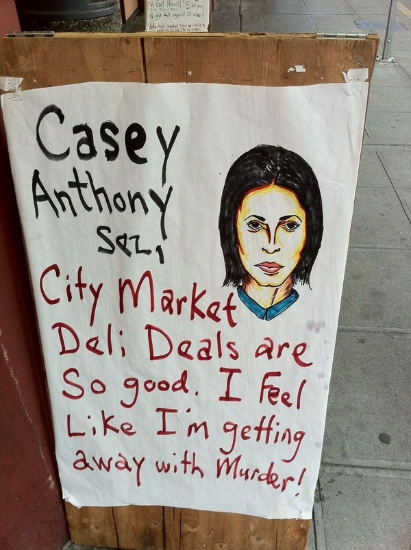 Casey Anthony Endorses Seattle Convenience Store