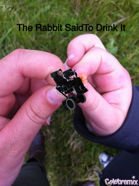 The Rabbit Said To Drink It!
