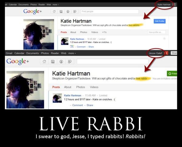 Google+ Live Rabbi