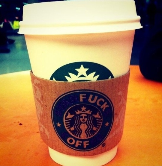 Starbucks Rejection Cup