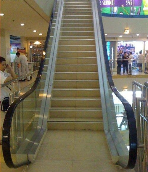 Escalator Troll