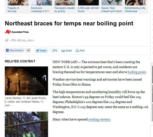 Weather Reporting Fail?