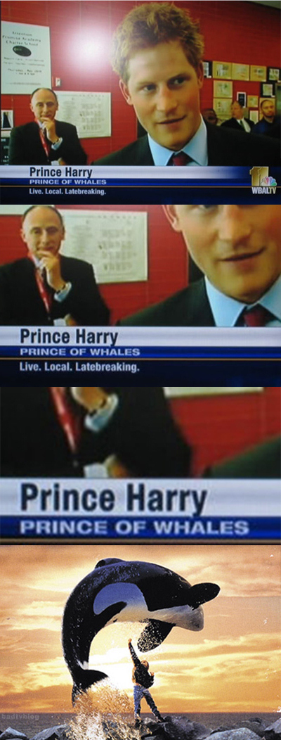 Harry, Prince Of...What?