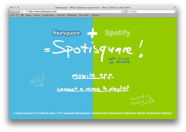 Spotisquare