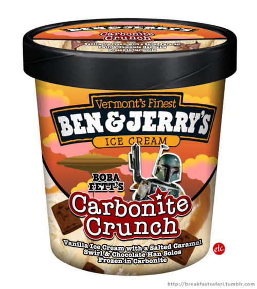 If Ben and Jerry's Made a Star Wars-Themed Ice Cream