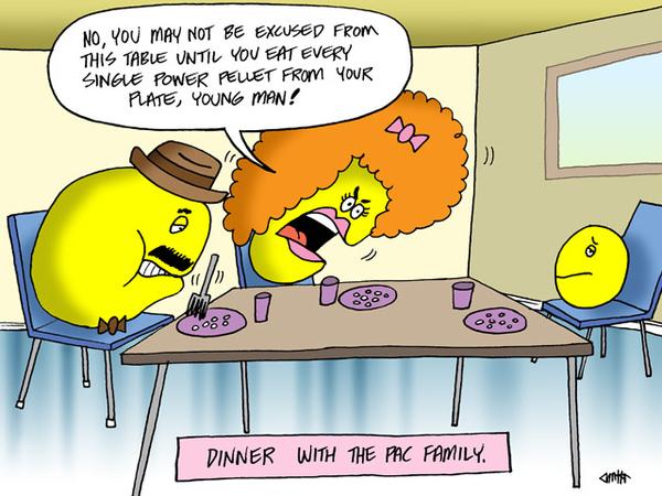 Pac Man Family Dinner
